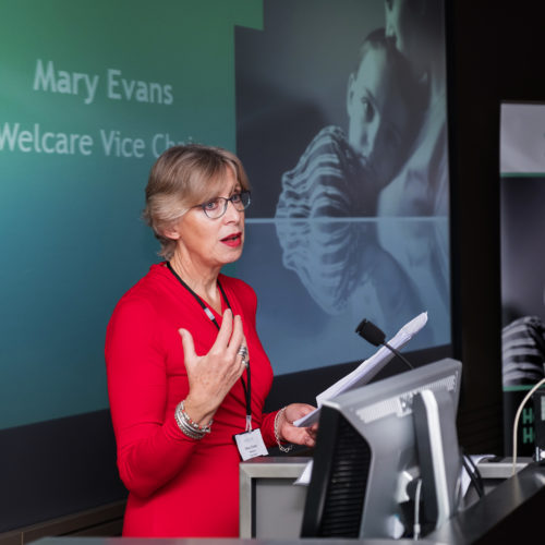 Mary Evans at Annual Meeting 2016