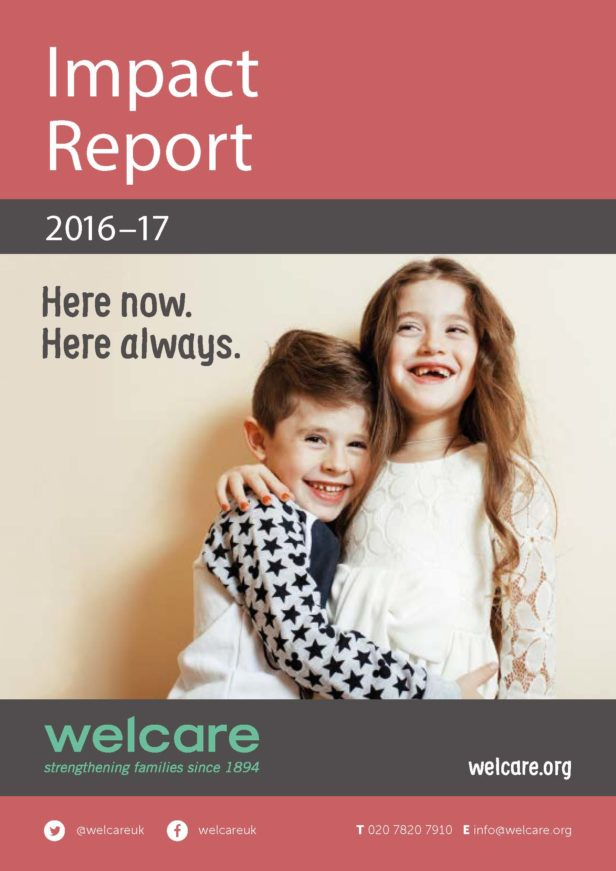 Impact Report 2016-17 Front Cover