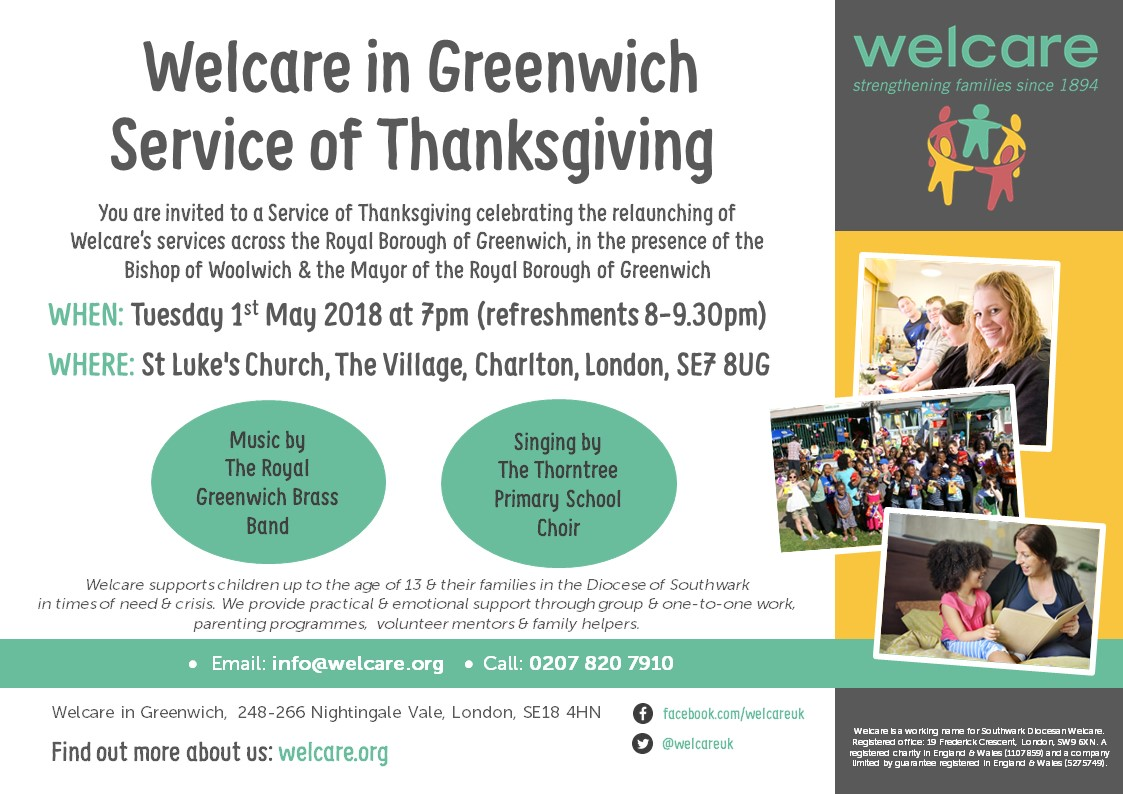 Greenwich Service Poster 2018