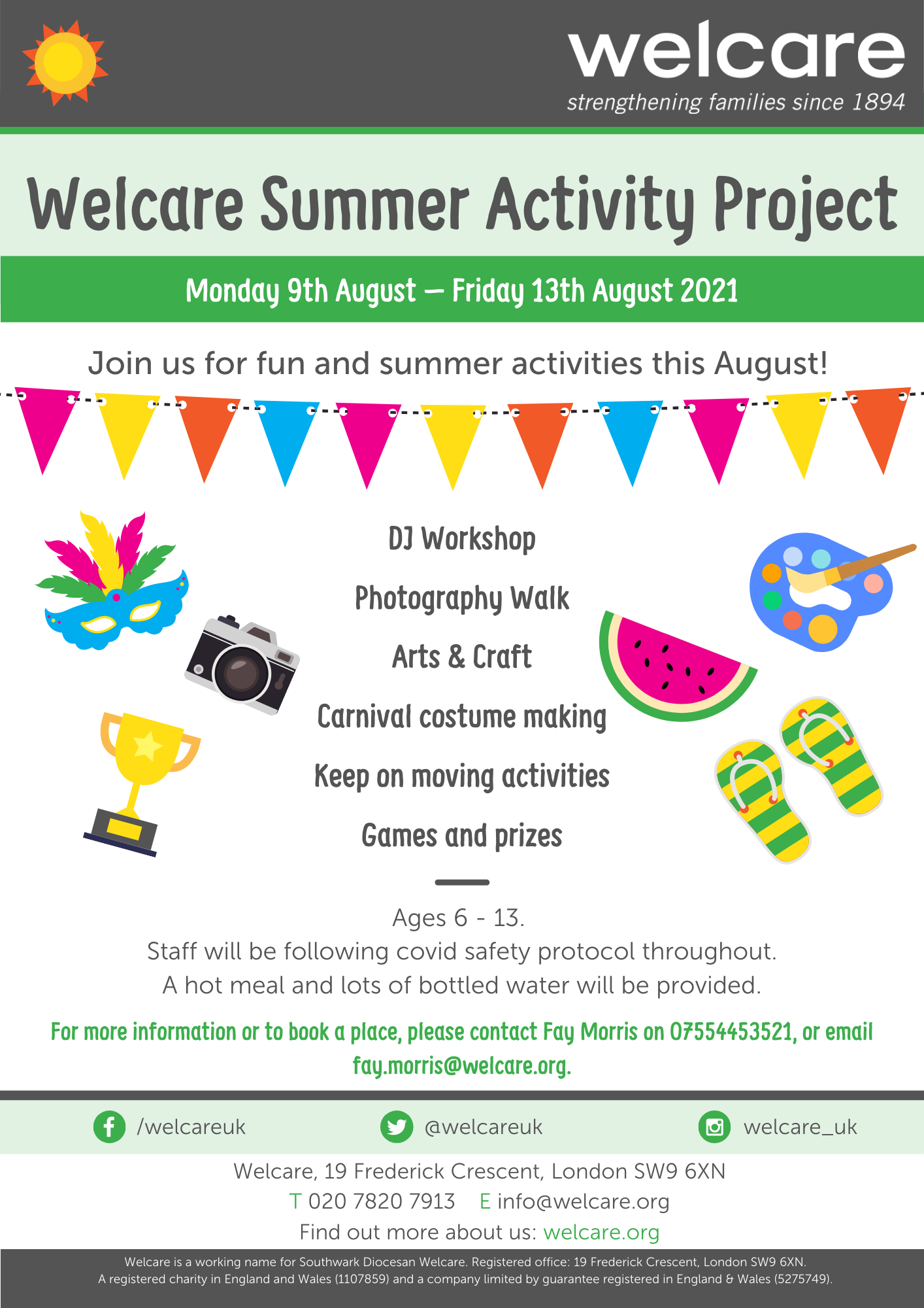 Summer Activity Project